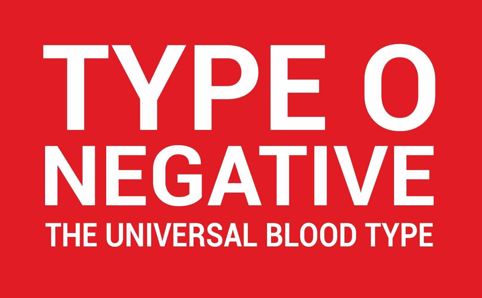 Have Type O Blood? - Donate in Coffeyville This Week